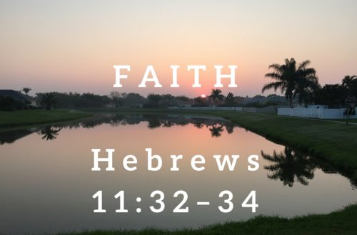 Hebrews 11:32–34